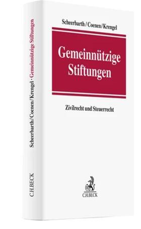 Scheerbarth / Schimpfky / Zitzelsberger   Gemeinnützige Stiftungen   Buch   sack.de