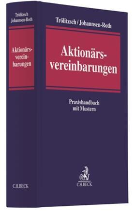 Trölitzsch / Johannsen-Roth   Aktionärsvereinbarungen   Buch   sack.de