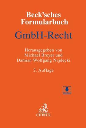Lorz / Pfisterer / Gerber | Beck'sches Formularbuch GmbH-Recht | Buch | sack.de