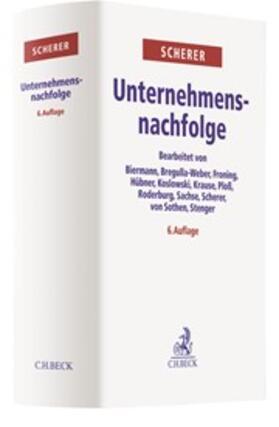 Scherer | Unternehmensnachfolge | Buch | sack.de