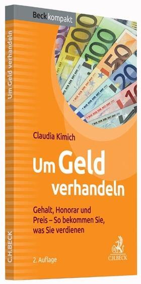 Kimich | Um Geld verhandeln | Buch | sack.de