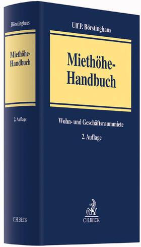 Börstinghaus | Miethöhe-Handbuch | Buch | sack.de