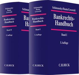Schimansky / Bunte / Lwowski   Bankrechts-Handbuch  Gesamtwerk   Buch   sack.de