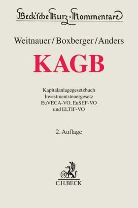 Weitnauer / Boxberger / Anders | KAGB, Kapitalanlagegesetzbuch, Kommentar | Buch | sack.de
