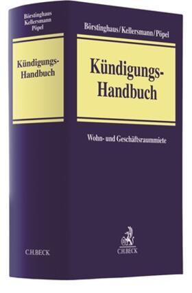 Börstinghaus / Kellersmann / Pöpel | Kündigungs-Handbuch | Buch | sack.de