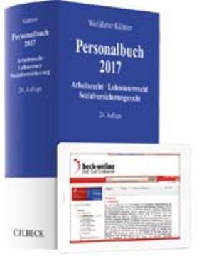 Küttner | Personalbuch 2017 | Buch | Sack Fachmedien