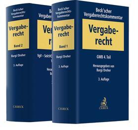 Burgi / Dreher | Beck'scher Vergaberechtskommentar | Buch | sack.de