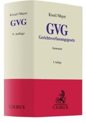 Kissel   Gerichtsverfassungsgesetz (GVG), Kommentar   Buch   Sack Fachmedien