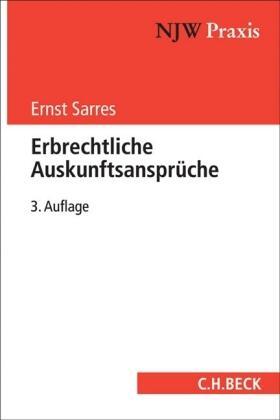 Sarres | Erbrechtliche Auskunftsansprüche | Buch | Sack Fachmedien