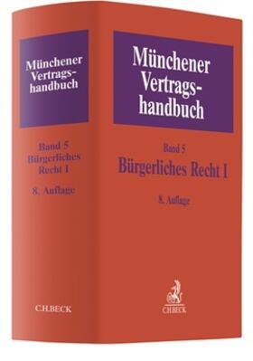 Herrler   Münchener Vertragshandbuch - Bürgerliches Recht I   Buch   sack.de