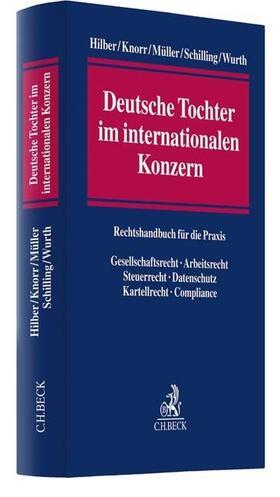 Hilber / Knorr / Müller | Deutsche Tochter im internationalen Konzern | Buch | Sack Fachmedien