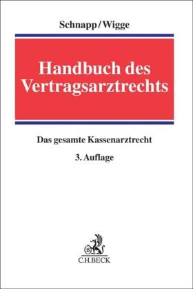 Schnapp / Wigge | Handbuch des Vertragsarztrechts | Buch | sack.de