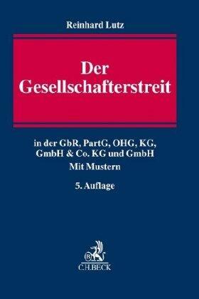 Lutz   Der Gesellschafterstreit   Buch   Sack Fachmedien