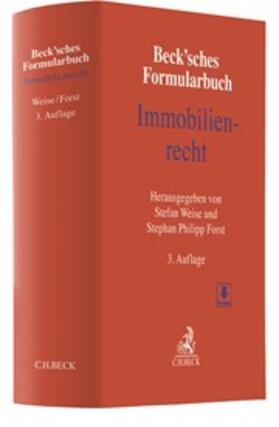 Weise / Forst   Beck'sches Formularbuch Immobilienrecht   Buch