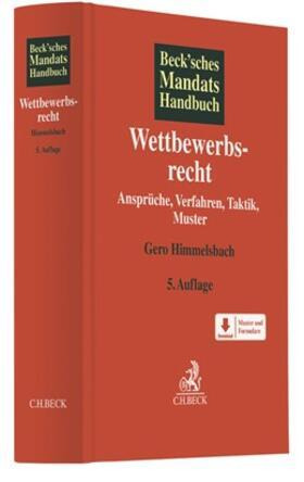 Himmelsbach | Wettbewerbsrecht | Buch | sack.de