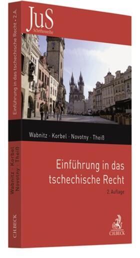 Wabnitz / Korbel / Novotny | Einführung in das tschechische Recht | Buch | Sack Fachmedien