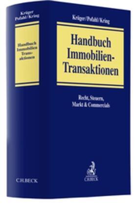 Pofahl / Kring / Krüger | Immobilientransaktionen | Buch | Sack Fachmedien