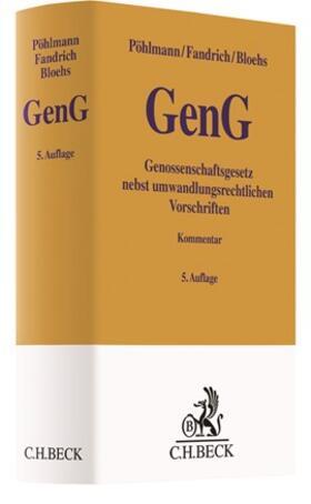 Pöhlmann / Fandrich / Bloehs | Genossenschaftsgesetz: GenG | Buch | sack.de