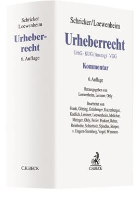 Schricker / Loewenheim | Urheberrecht | Buch | sack.de