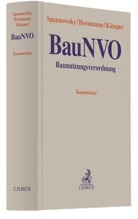 Spannowsky / Hornmann / Kämper | Baunutzungsverordnung BauNVO, Kommentar | Buch | sack.de