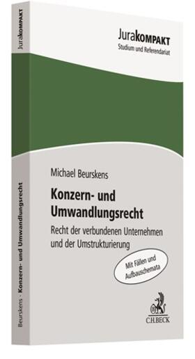 Beurskens | Konzern- und Umwandlungsrecht | Buch | Sack Fachmedien