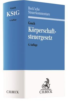 Gosch | Körperschaftsteuergesetz: KStG | Buch | sack.de