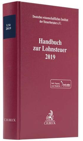 Handbuch zur Lohnsteuer 2019: LSt 2019 | Buch | Sack Fachmedien