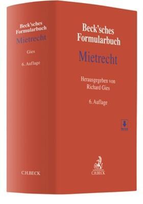 | Beck'sches Formularbuch Mietrecht | Buch | sack.de