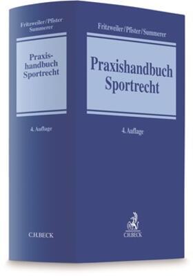 Pfister / Fritzweiler / Summerer | Praxishandbuch Sportrecht | Buch | sack.de