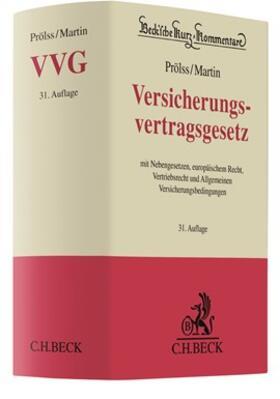 Prölss/Martin | Versicherungsvertragsgesetz: VVG | Buch | sack.de