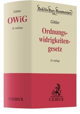 Göhler | Gesetz über Ordnungswidrigkeiten: OWiG | Buch | sack.de