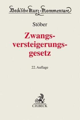 Stöber   Zwangsversteigerungsgesetz: ZVG   Buch   sack.de