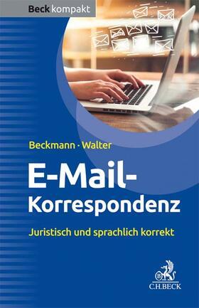Beckmann / Walter | E-Mail-Korrespondenz | Buch | sack.de