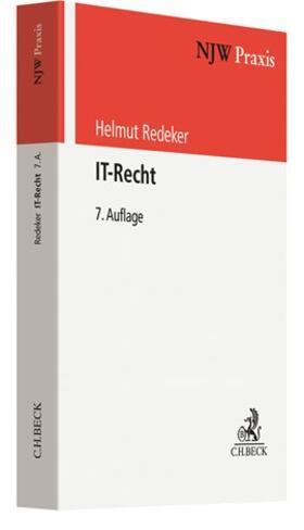 Redeker | IT-Recht | Buch | sack.de