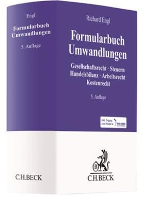 Engl | Formularbuch Umwandlungen | Buch | sack.de