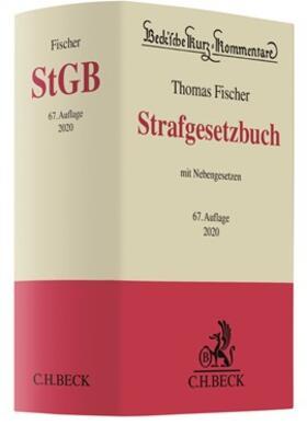 Fischer | Strafgesetzbuch: StGB | Buch | sack.de