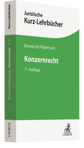 Emmerich / Habersack   Konzernrecht   Buch   sack.de
