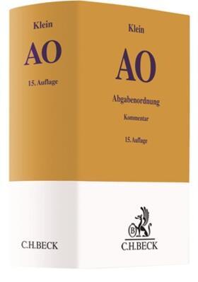 Klein | Abgabenordnung: AO  | Buch | sack.de