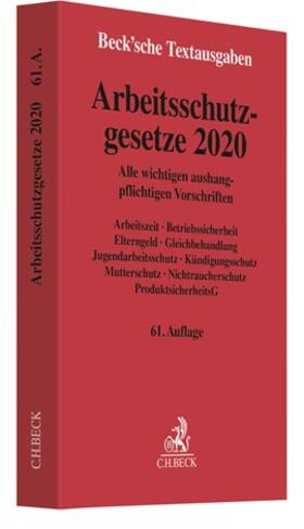 Arbeitsschutzgesetze 2020 | Buch | sack.de