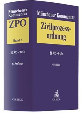 Krüger / Rauscher   Münchener Kommentar zur Zivilprozessordnung (ZPO) 02: §§ 355-945b   Buch   sack.de