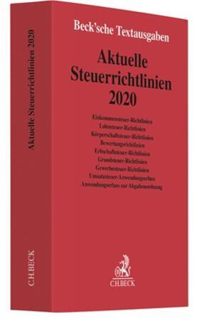 Aktuelle Steuerrichtlinien 2020 | Buch | sack.de