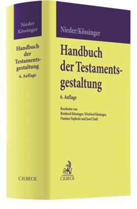 Nieder / Kössinger | Handbuch der Testamentsgestaltung | Buch | sack.de