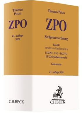 Thomas / Putzo | Zivilprozessordnung: ZPO | Buch | sack.de