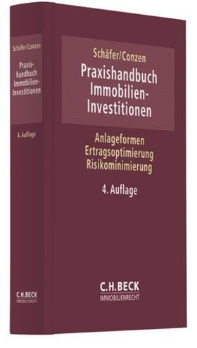 Schäfer / Conzen | Praxishandbuch Immobilien-Investitionen | Buch | sack.de