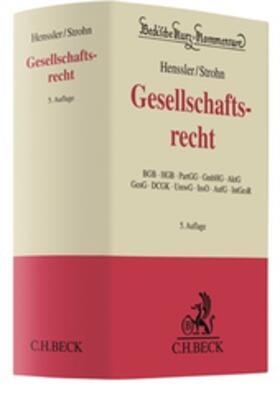 Strohn / Henssler   Gesellschaftsrecht: GesR   Buch   sack.de