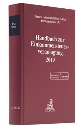 | Handbuch zur Einkommensteuerveranlagung 2019: ESt 2019 | Buch | sack.de