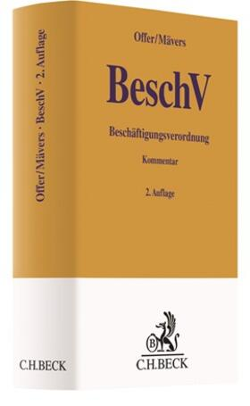 Offer / Mävers | Beschäftigungsverordnung: BeschV | Buch | sack.de