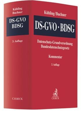 Kühling / Buchner | DS-GVO / BDSG - Datenschutz-Grundverordnung / Bundesdatenschutzgesetz | Buch | sack.de
