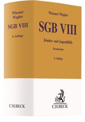 Wiesner / Wapler | SGB VIII | Buch | sack.de