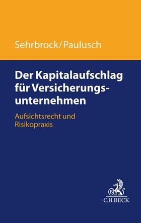 Paulusch / Sehrbrock | Der Kapitalaufschlag für Versicherungsunternehmen | Buch | sack.de
